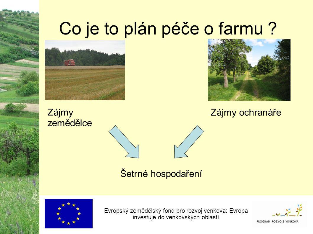 Co je to plán péče o farmu .