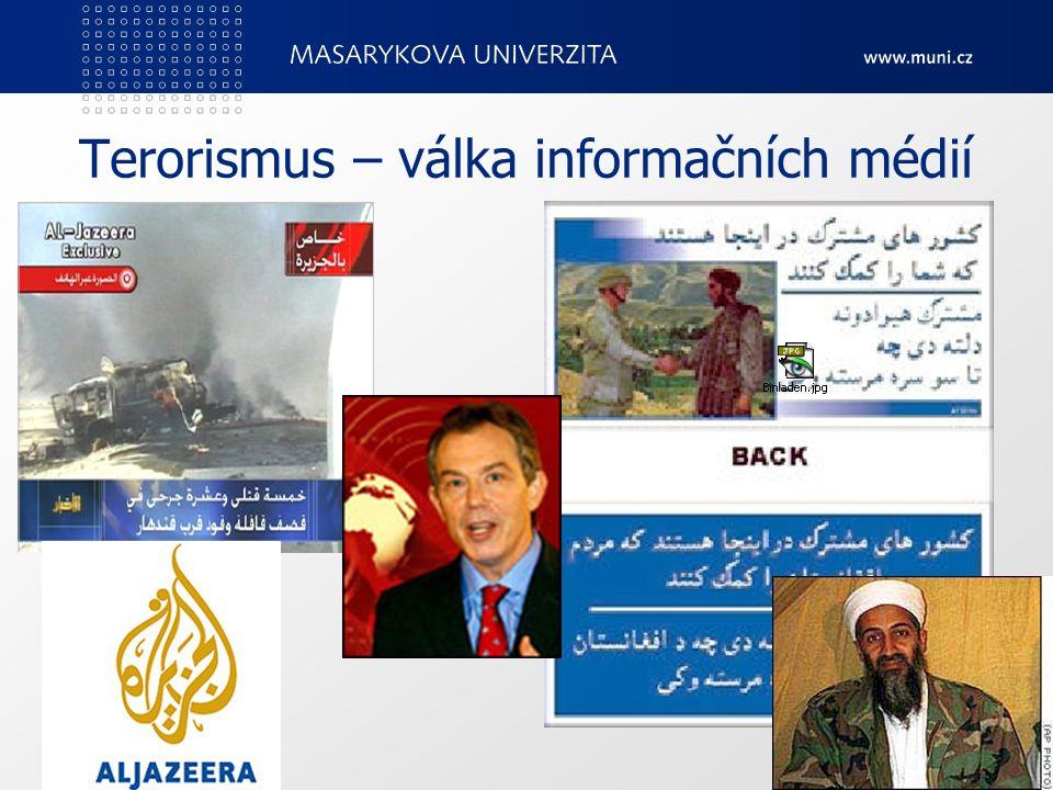 Terorismus – válka informačních médií