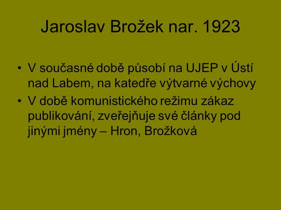 Jaroslav Brožek nar.