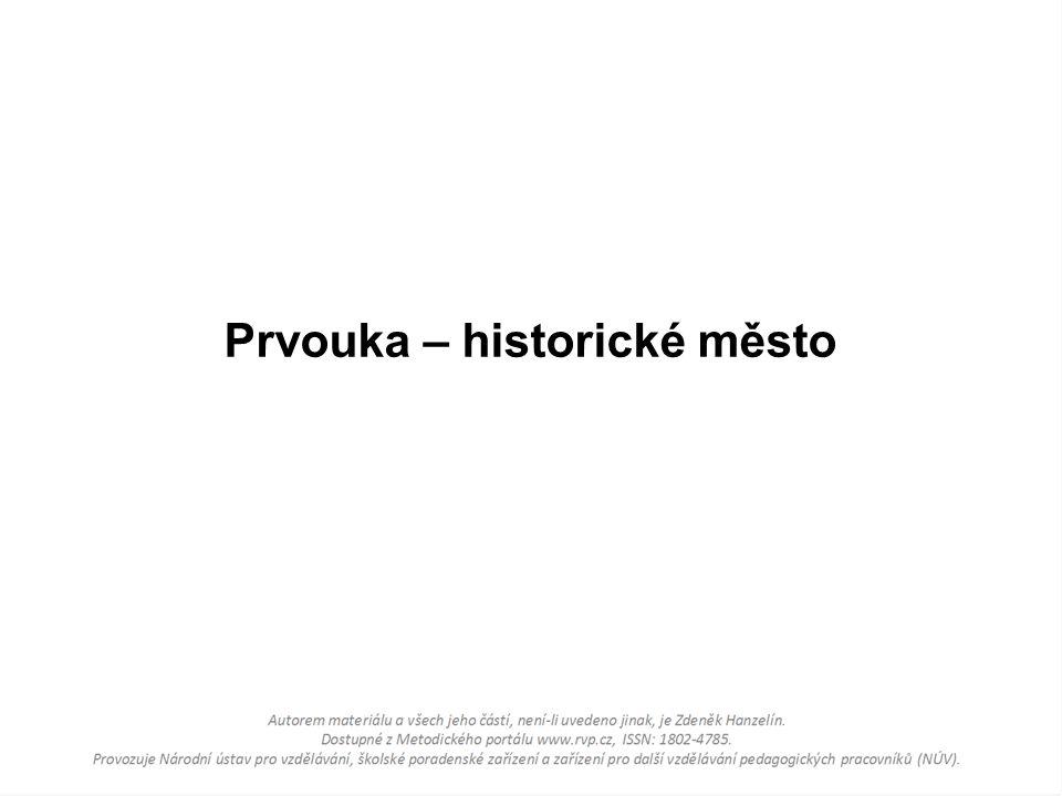 Prvouka – historické město