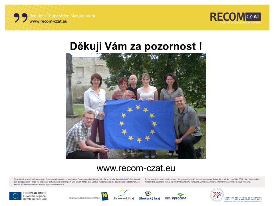 Děkuji Vám za pozornost ! www.recom-czat.eu