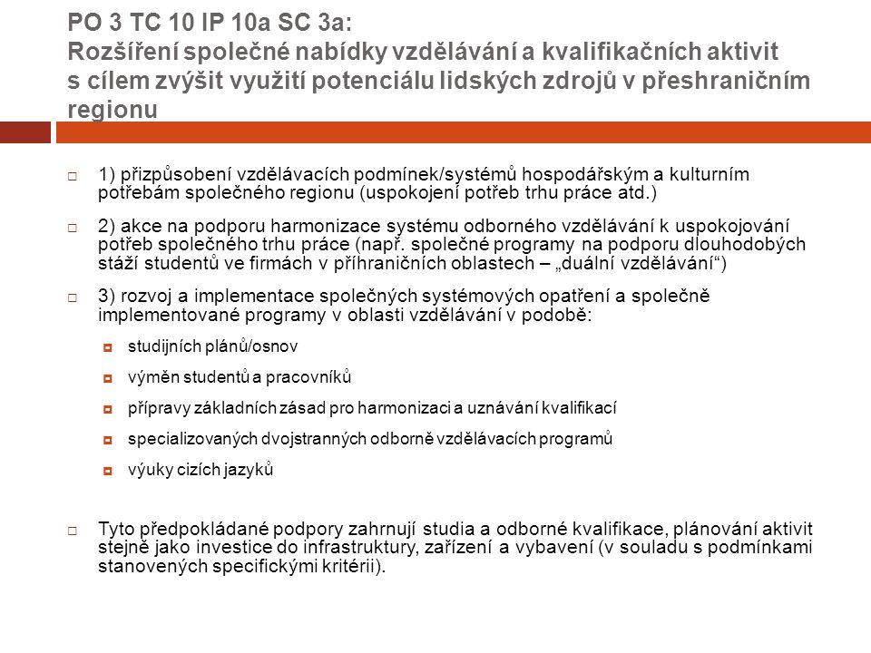 Společná pravidla způsobilosti – obecné zásady  pro české žadatele – projekt nesmí současně obdržet podporu z jiného programu financovaného EU  časová způsobilost výdajů  způsobilé nejdříve od 1.