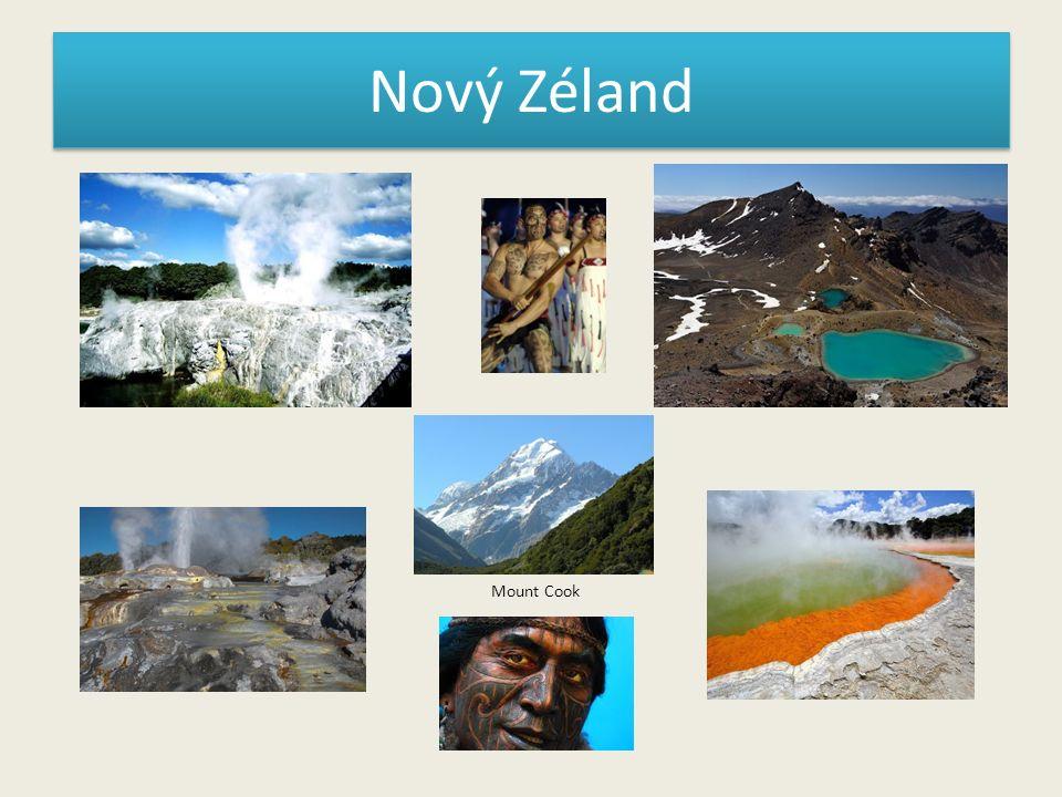 Nový Zéland Mount Cook