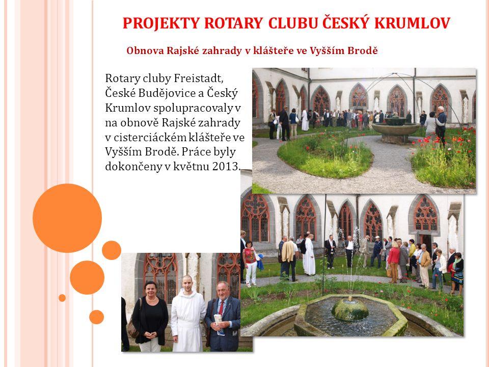 Dále Rotary club Český Krumlov zajistil:  MOTOMED - Speciální rehabilitační pomůcka Motomed pro cvičení dolních končetin pacienta s poškozením páteře.