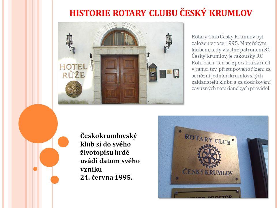 Oblast Horního Rakouska byla pro Československo a později Českou republiku historicky domovským porevoluční distriktem Rotary.