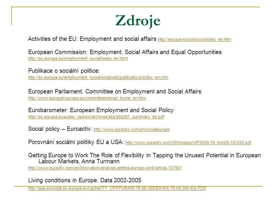 """SOCIÁLNÍ POLITIKA A VNITŘNÍ TRH CÍL:  kompenzovat jednotlivce a znevýhodněné skupiny za vytvoření VT """"Evropa občanů, nikoli jen podnikatelů úzce souvisí s politikami vzdělávání, zdravotnictví, ochranou spotřebitele, kulturou"""