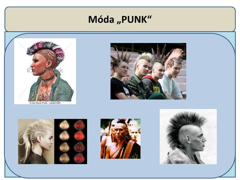 """Móda """"PUNK"""""""