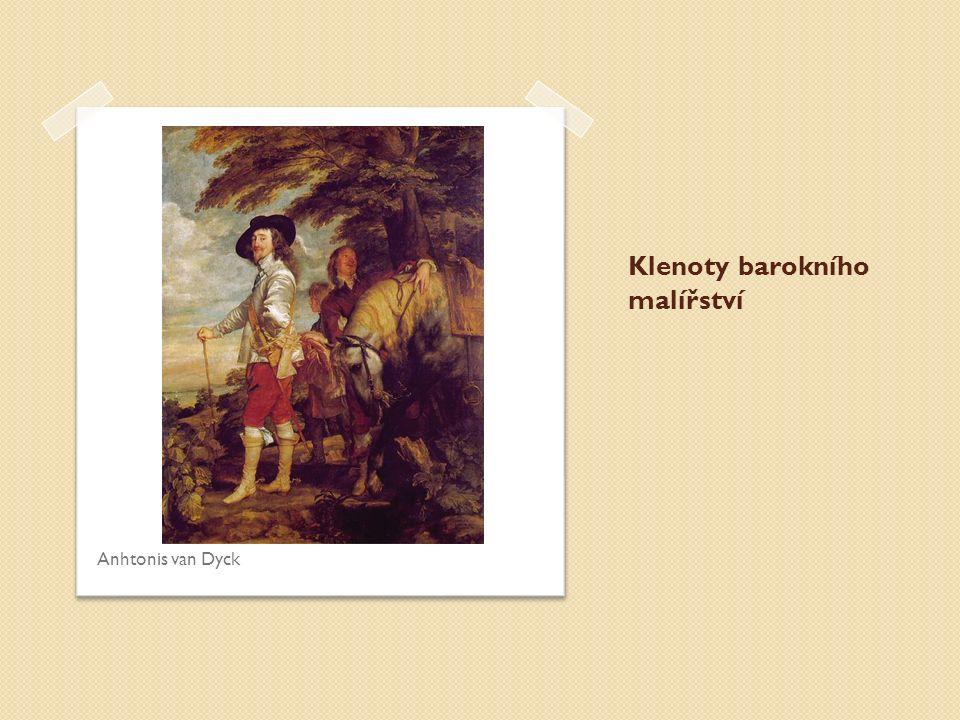 Klenoty barokního malířství Anhtonis van Dyck