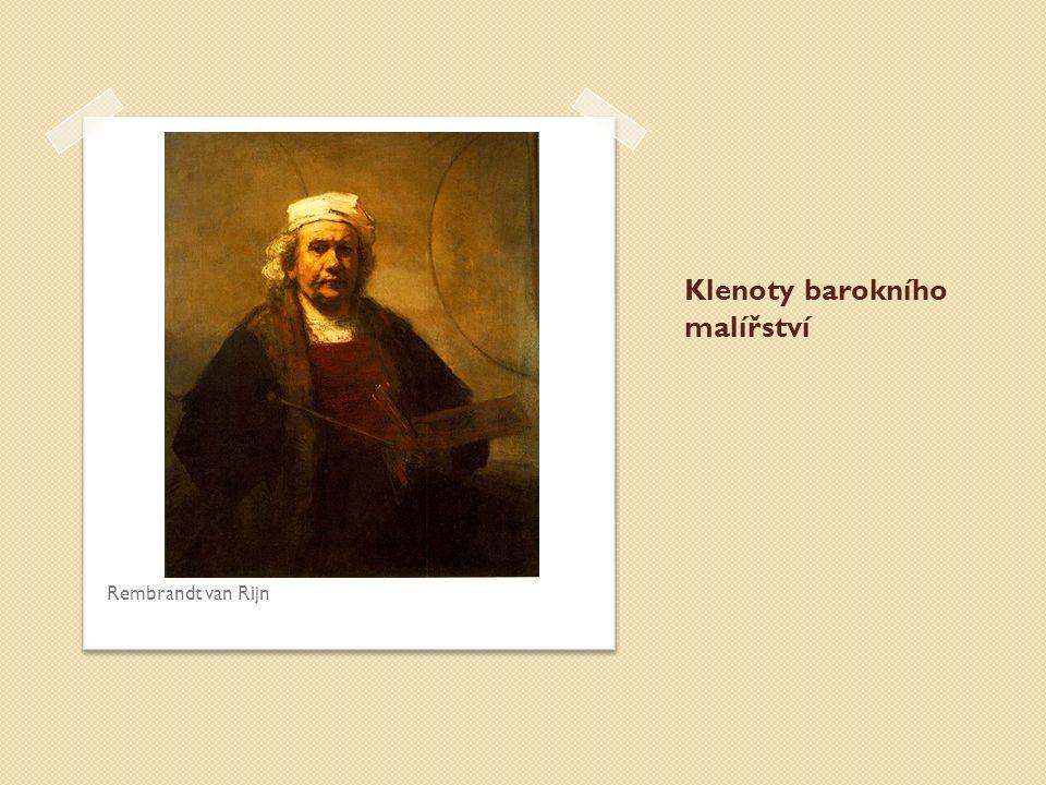 Klenoty barokního malířství Rembrandt van Rijn