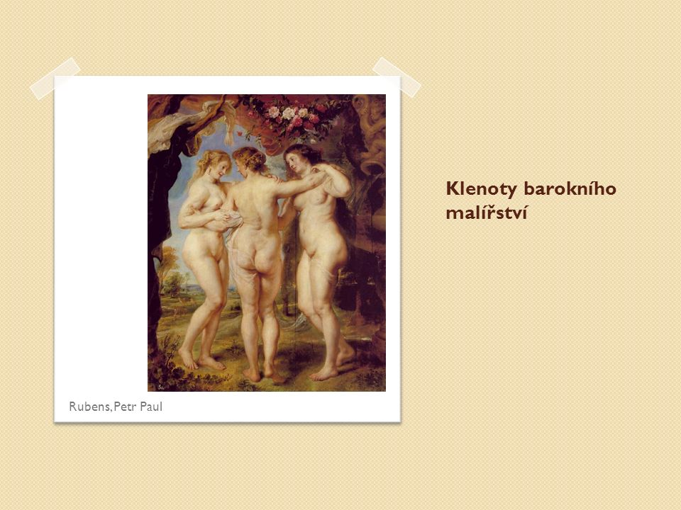 Klenoty barokního malířství Rubens, Petr Paul