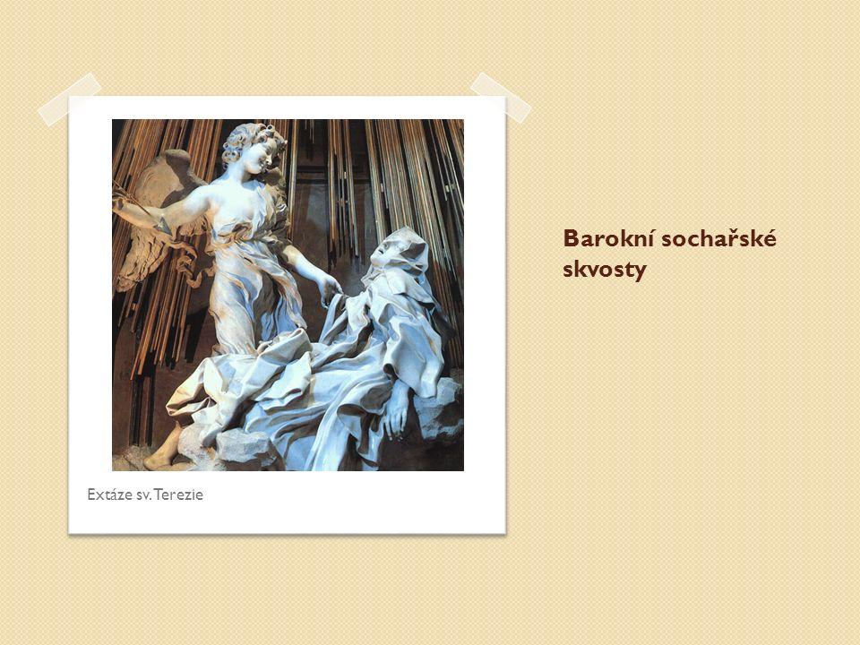 Barokní sochařské skvosty Extáze sv. Terezie