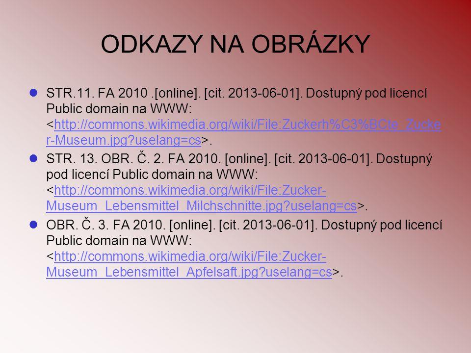 ODKAZY NA OBRÁZKY STR.11. FA 2010.[online]. [cit. 2013-06-01]. Dostupný pod licencí Public domain na WWW:.http://commons.wikimedia.org/wiki/File:Zucke