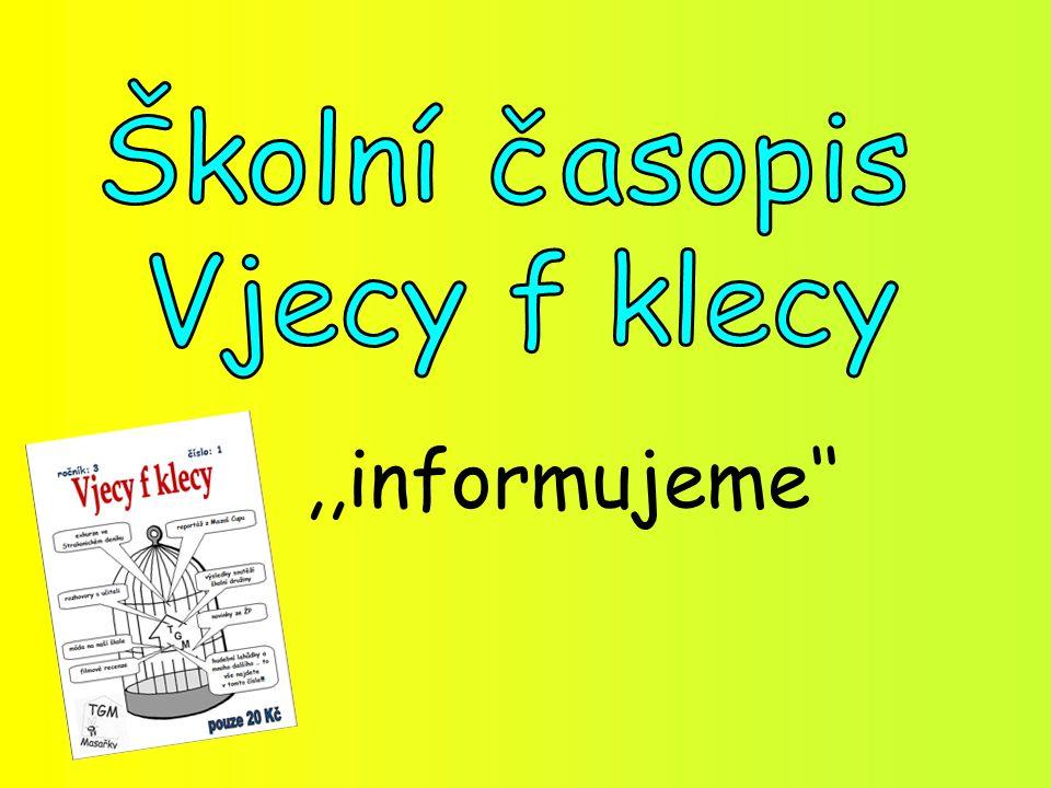 ,,informujeme''