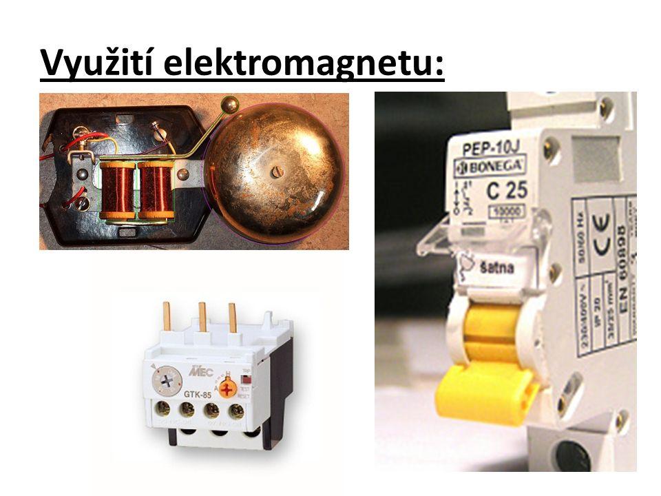 Využití elektromagnetu: