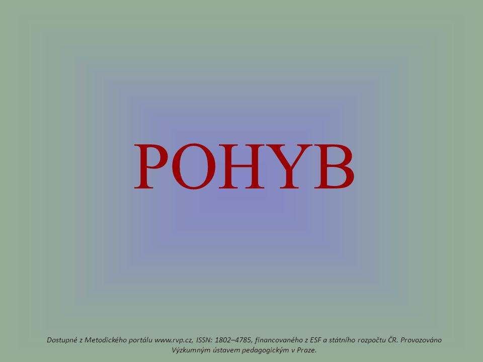 POHYB Dostupné z Metodického portálu www.rvp.cz, ISSN: 1802–4785, financovaného z ESF a státního rozpočtu ČR.
