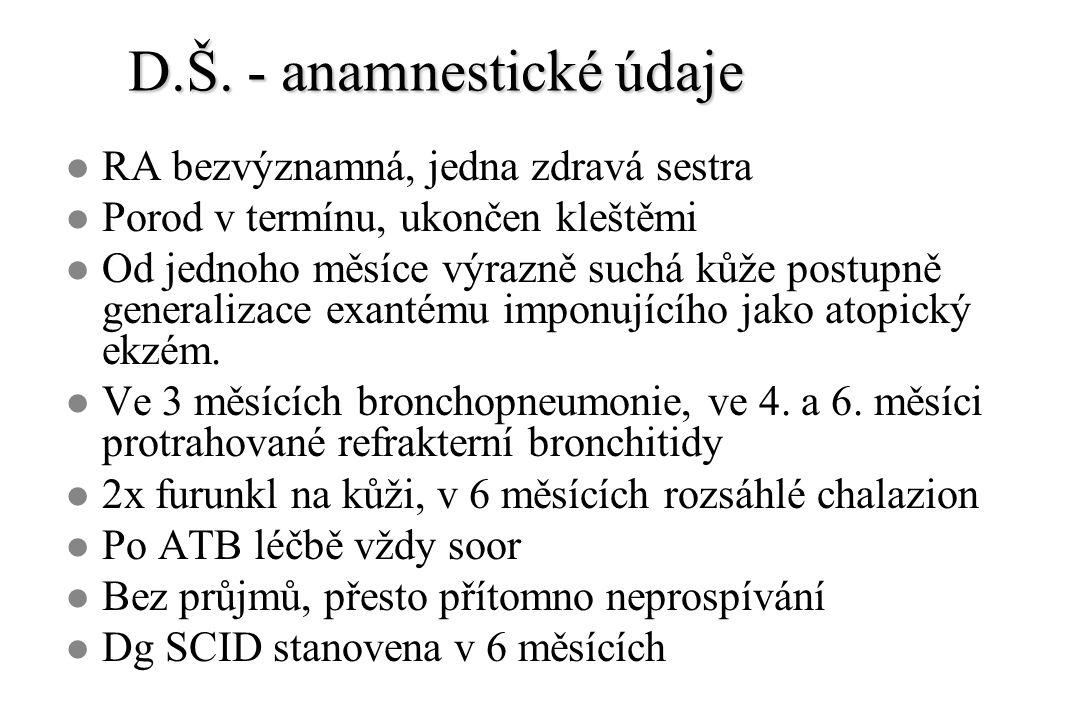 Hereditární angioedém l Způsoben deficitem C1 INH.