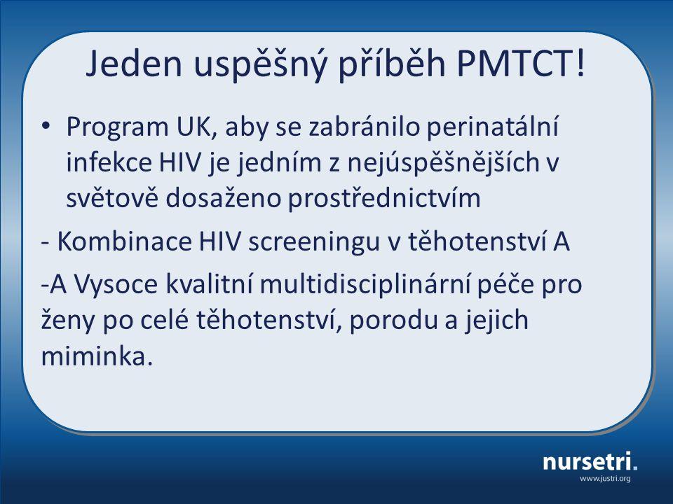 Jeden uspěšný příběh PMTCT.