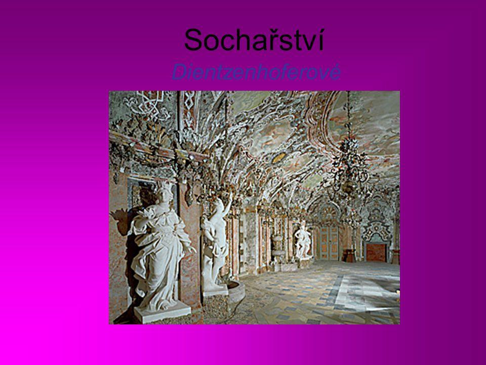 Sochařství Dientzenhoferové