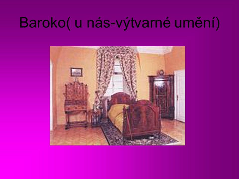 Baroko( u nás-výtvarné umění)