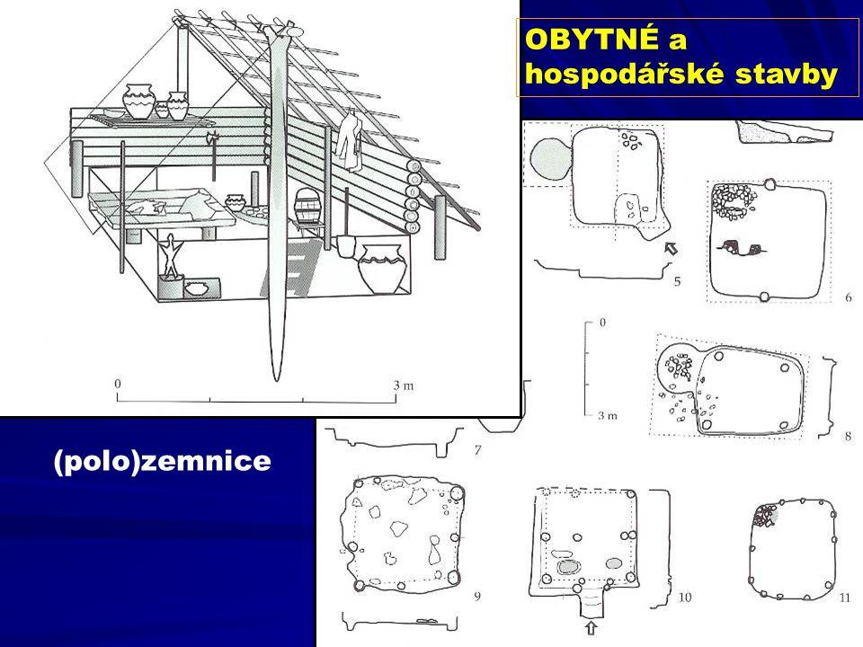 OBYTNÉ a hospodářské stavby (polo)zemnice