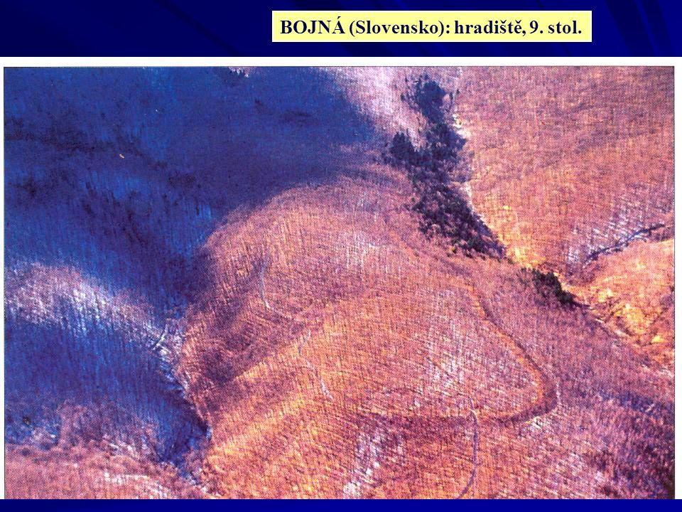 BOJNÁ (Slovensko): hradiště, 9. stol.