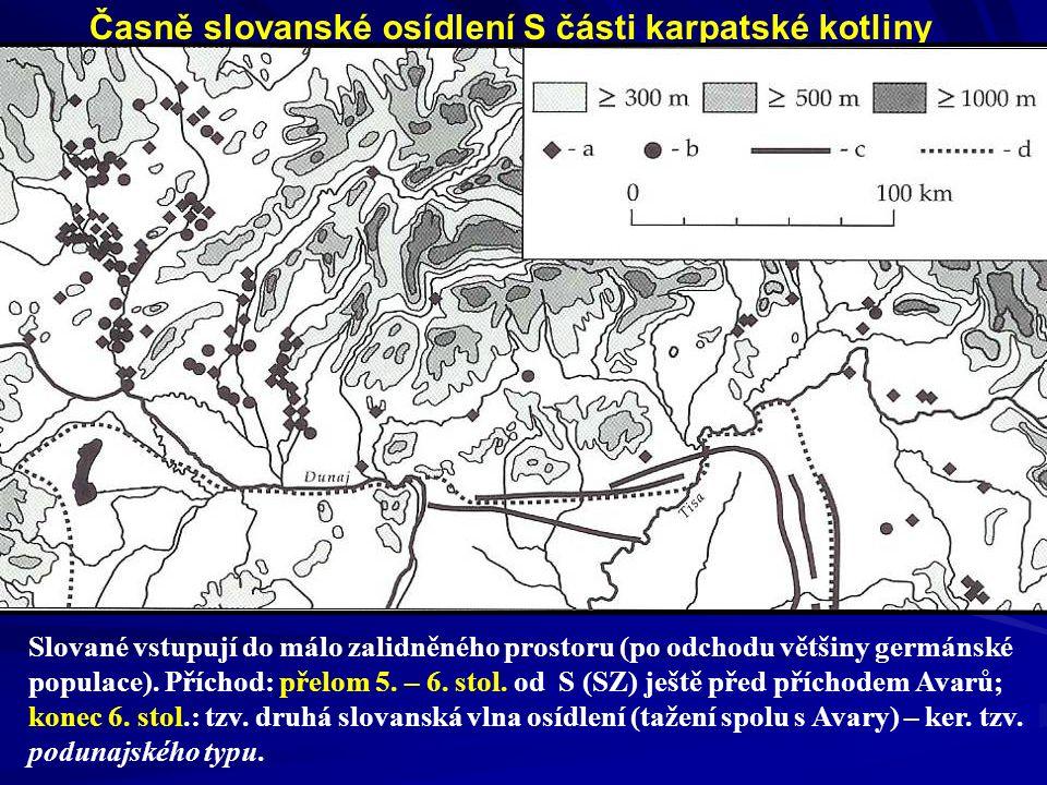 Osídlení JZ Slovenska 6. – 8. stol. (pohřebiště)