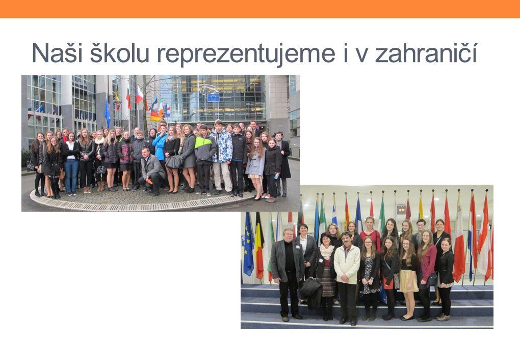 Naši školu reprezentujeme i v zahraničí