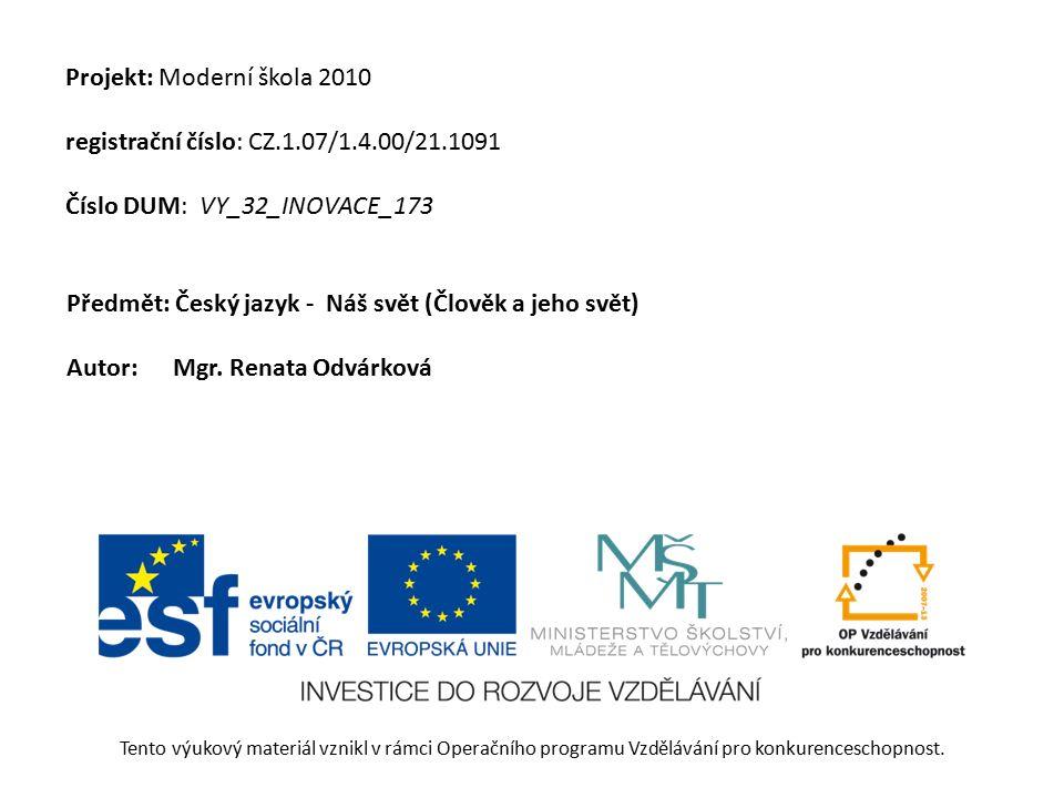 VY_32_INOVACE_173_ uvodnipraha Název: ČJ - NS – Úvodní Praha Anotace: Program je úvodním seznámením s Prahou, seznamuje s pojmem UNESCO a vede k orientaci v plánku pražského metra Autor: Mgr.