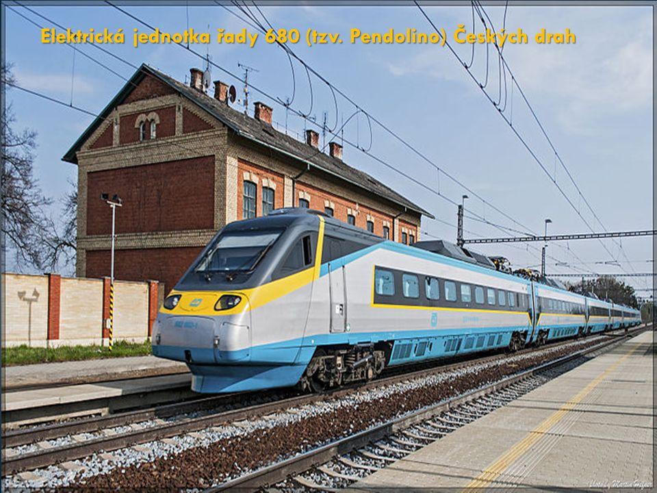 Elektrická jednotka řady 680 (tzv. Pendolino) Českých drah