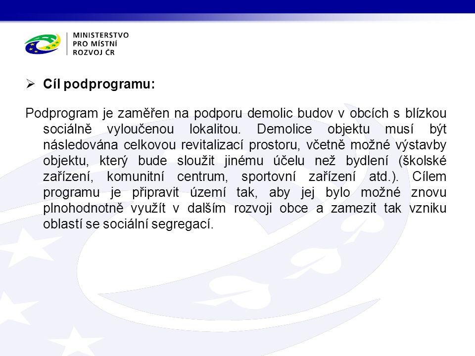  Dotační tituly Dotační titul č.
