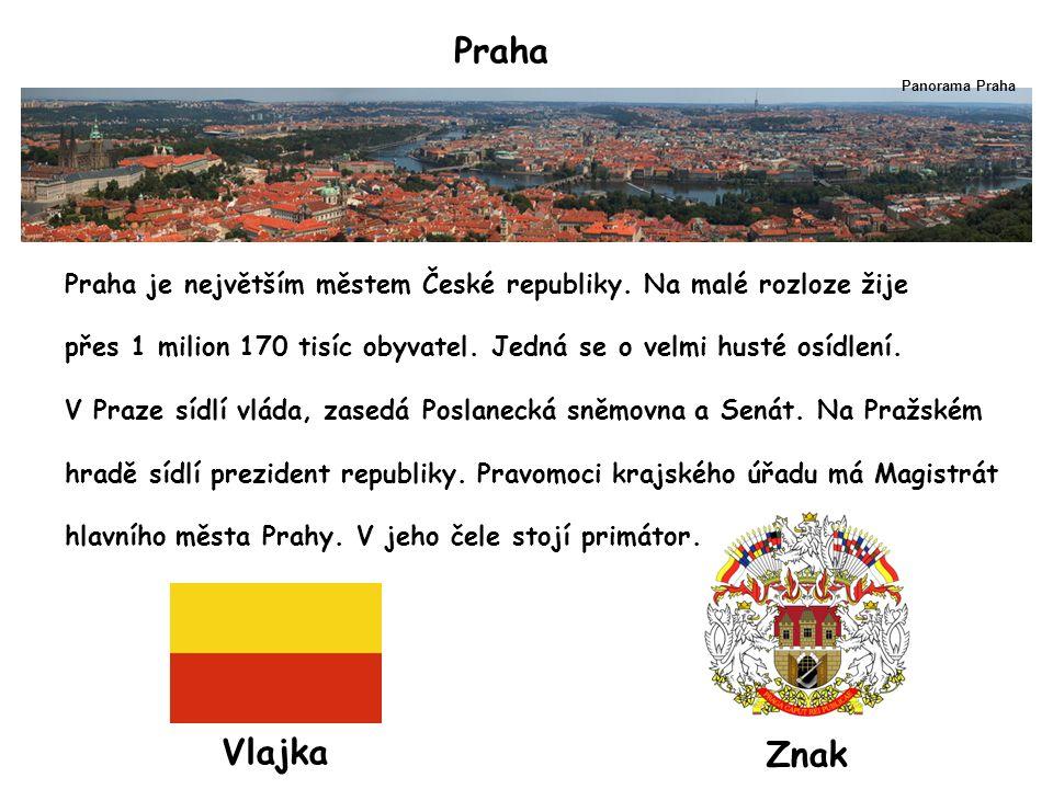 Praha Praha je největším městem České republiky.