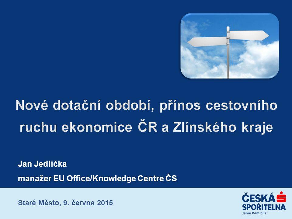 Jan Jedlička manažer EU Office/Knowledge Centre ČS Staré Město, 9. června 2015