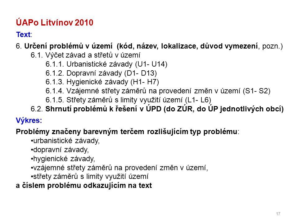 17 ÚAPo Litvínov 2010 Text: 6.