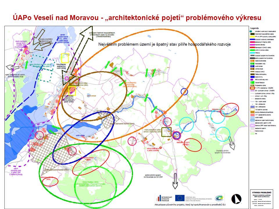 """26 ÚAPo Veselí nad Moravou - """"architektonické pojetí problémového výkresu"""