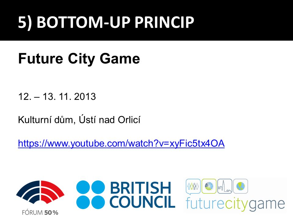 Future City Game 12. – 13. 11.