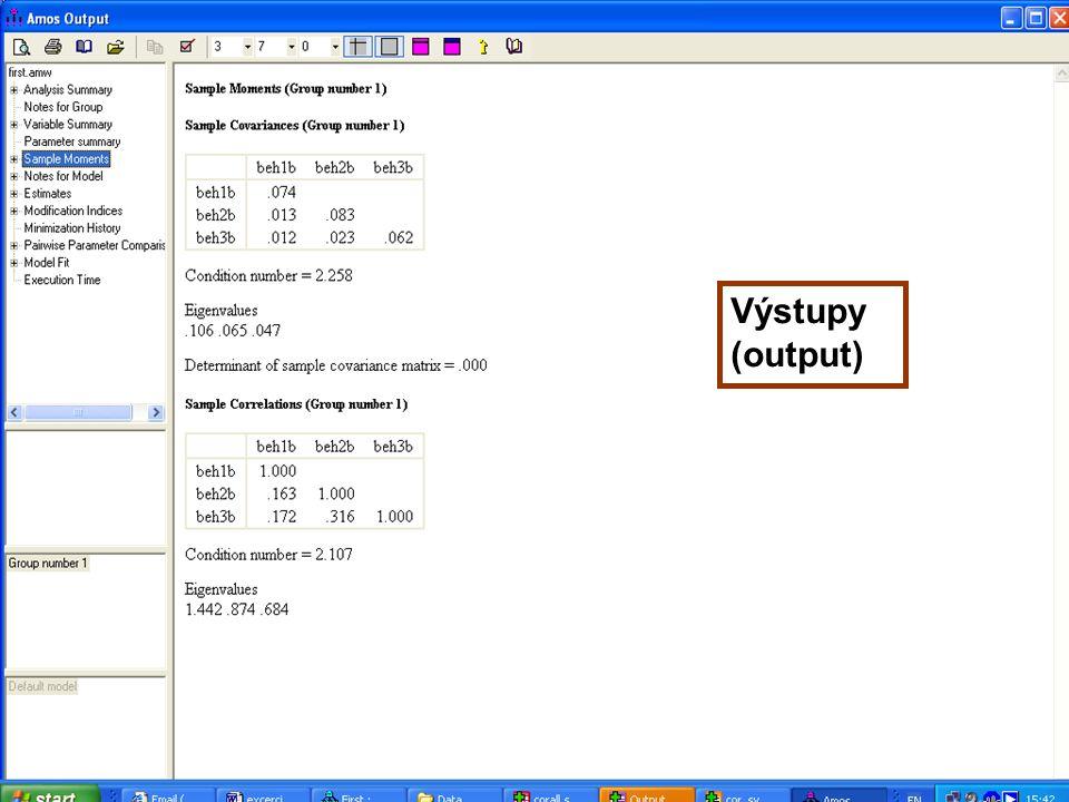 66 Výstupy (output)