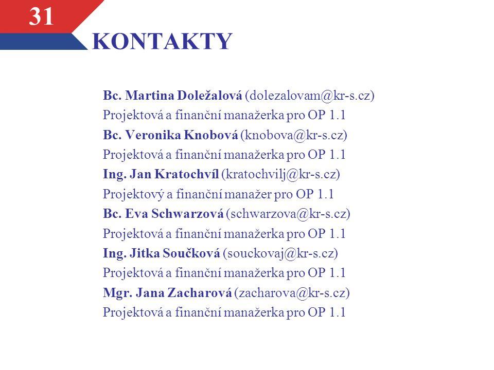 KONTAKTY Bc.