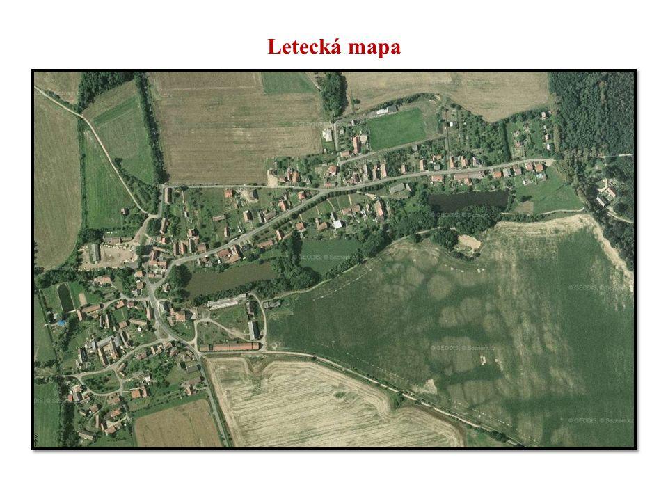 Letecká mapa