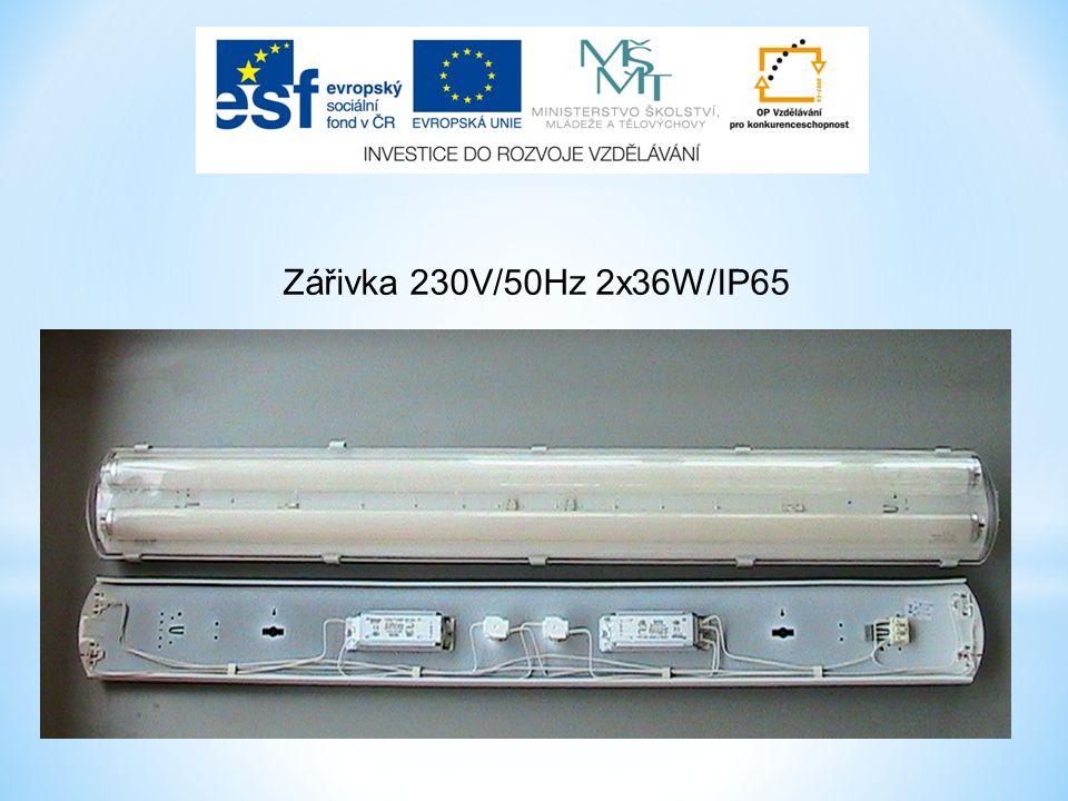 Zářivka 230V/50Hz 2x36W/IP65