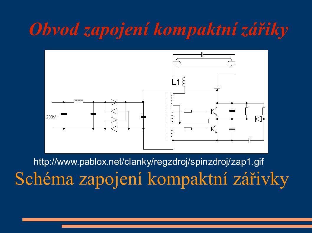 Obvod zapojení kompaktní zářiky Schéma zapojení kompaktní zářivky http://www.pablox.net/clanky/regzdroj/spinzdroj/zap1.gif