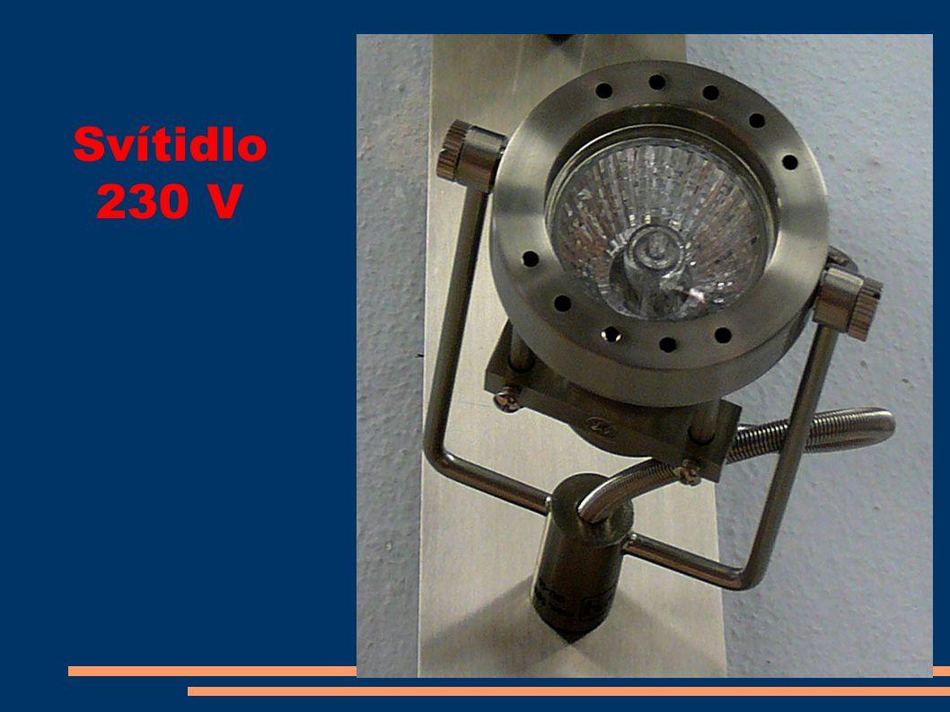 Svítidlo 230 V