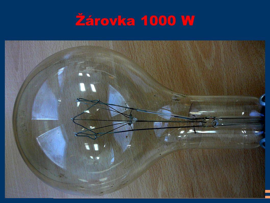Žárovka 1000 W