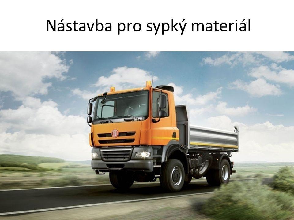 Nástavba pro sypký materiál