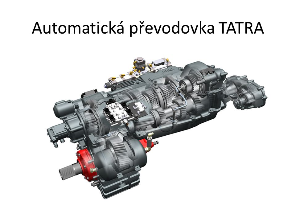 Automatická převodovka TATRA