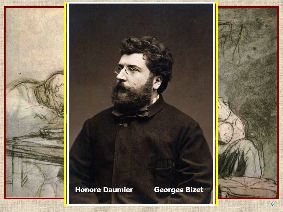 Georges Bizet Honore Daumier