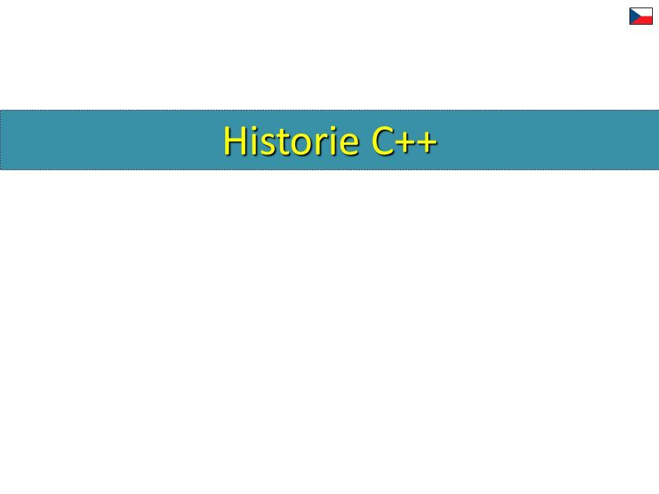 Deklarace a definice tříd a typů DeklaraceDefinice Třída class A;class A {...