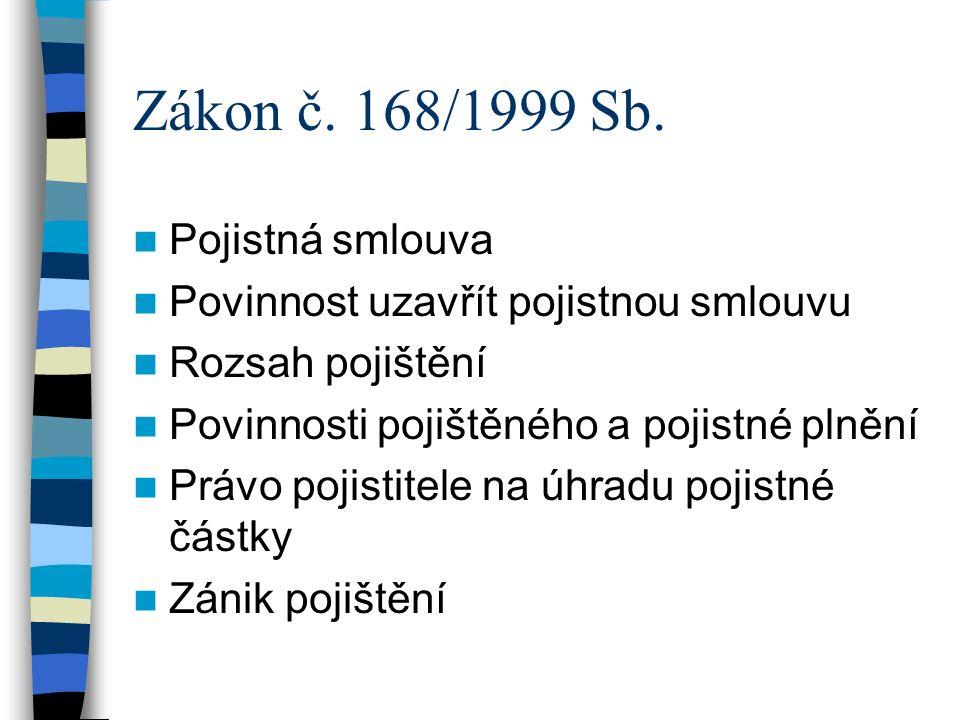 Zákon č. 168/1999 Sb.