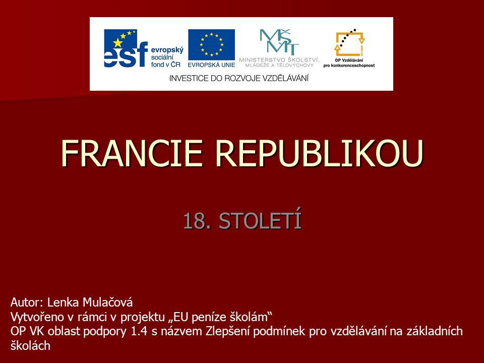 FRANCIE REPUBLIKOU 18.