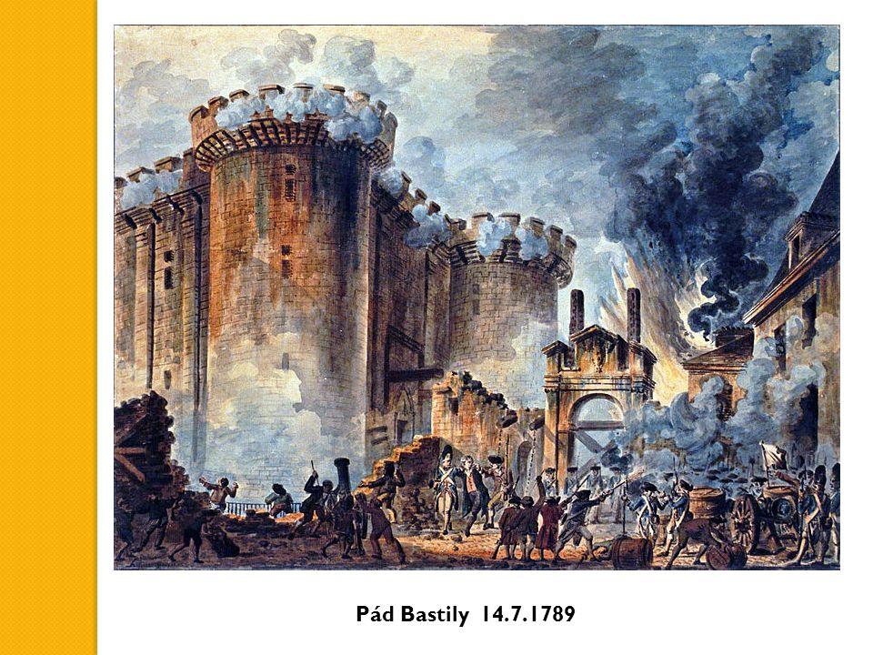 Pád Bastily 14.7.1789