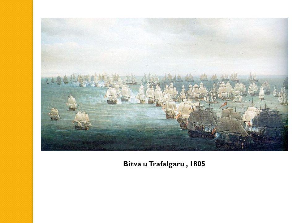 Bitva u Trafalgaru, 1805